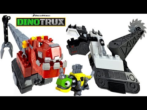 Download MEGA CONSTRUX DREAMWORKS DINOTRUX CRATER RUMBLE WITH TY-REX D-STRUX AND REVVIT - UNBOXING HD Mp4 3GP Video and MP3
