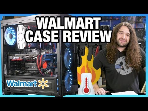 Walmart Gaming PC DTW Case Review & Thermals