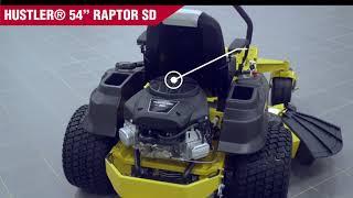 4. Riding Mower - Hustler 54  Raptor SD