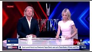 Jakimowicz chlipie w TVP Info ws. posądzenia o gwałt.