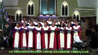 Ernakulam India  city pictures gallery : CSI Immanuel Church Choir ,Ernakulam, India Singing Ding A Ding (recorded live)