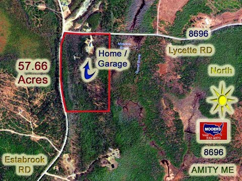 Home, Land In Maine For Sale On 444 Lycette RD Amity ME | MOOERS REALTY #8703