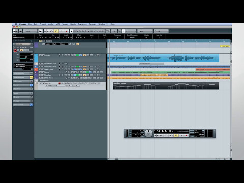 Cubase 7 Quick Start Video Tutorials – Chapter 9 – Advanced production techniques (2/2)