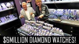 Video $6MILLION DIAMOND WATCHES! MP3, 3GP, MP4, WEBM, AVI, FLV Juni 2019