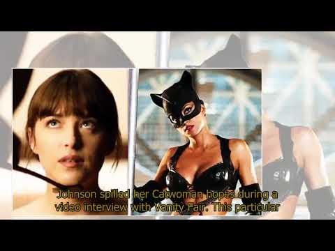 Fifty Shades Freed Dakota Johnson reveals CATWOMAN bombshell: WATCH