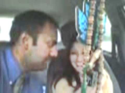 Lahore paki hot couple romance in car.flv