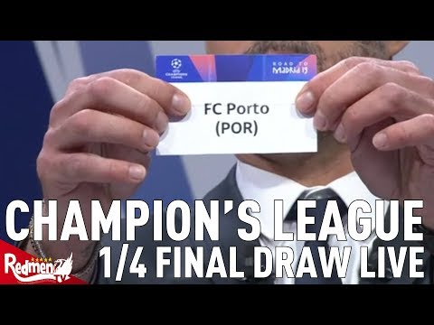 Liverpool V Porto!!! | Champions League Quarter Final And Semi Final Draw Reaction LIVE