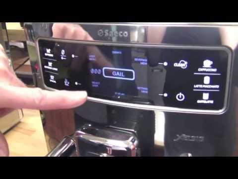 Crew Review: Saeco Xelsis One-Touch Espresso Machine – Redux!