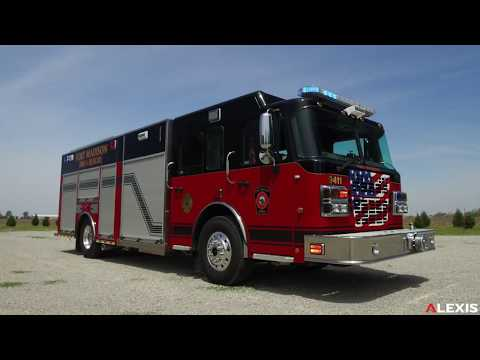 FORT MADISON ENCLOSED SIDE CONTROL CAFS PUMPER #2334 - Alexis Fire Equipment