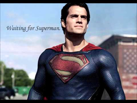 Daughtry- Waiting For Superman Lyrics (Man Of Steel)