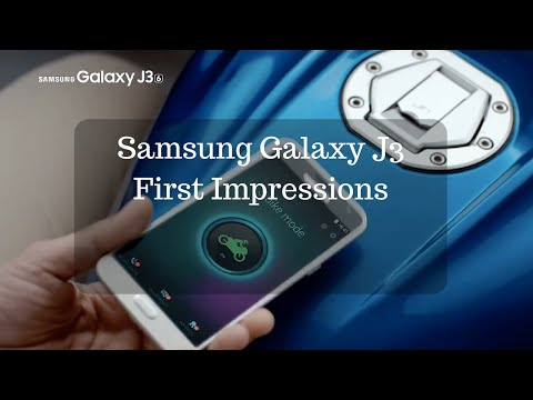 Galaxy J3 with S-Bike Mode Hands-on