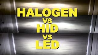 Video Halogen vs HID vs LED MP3, 3GP, MP4, WEBM, AVI, FLV Desember 2018