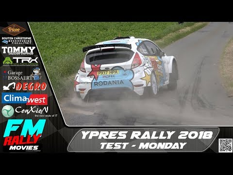 Ypres rally 2018 | TEST | Cracco - Yates - Bogie - Bedoret - Parmentier [HD]