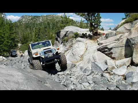 Fj40 On The Rubicon Trail