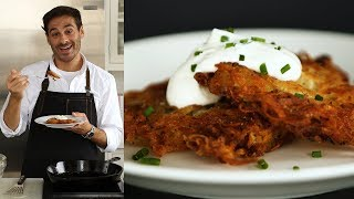 Foolproof Potato Pancakes (PotaLatk) - Kitchen Conundrum with Thomas Josephy by Everyday Food