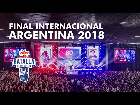 Final Internacional 2018  Red Bull Batalla de los Gallos