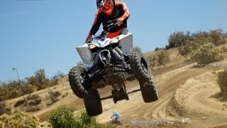 8. 2014 Yamaha YFZ450R First Ride - MotoUSA