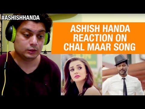 CHAL MAAR Video Song | Abhinetri Telugu Movie | Prabhu Deva | Amy Jackson | Reaction By Ashish Handa