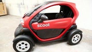 Video Scoot's First Four-Wheel Vehicle MP3, 3GP, MP4, WEBM, AVI, FLV Juni 2019