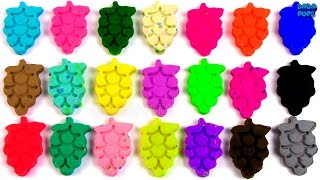 """Learn Colors Play Doh GrapesLearn To Count 0-20 with PLAY-DOH Композиция """"Beachfront Celebration - Latinesque"""" принадлежит исполнителю Kevin MacLeod. Лицензия: Creative Commons Attribution (https://creativecommons.org/licenses/by/4.0/).Оригинальная версия: http://incompetech.com/music/royalty-free/index.html?isrc=USUAN1200022.Исполнитель: http://incompetech.com/"""