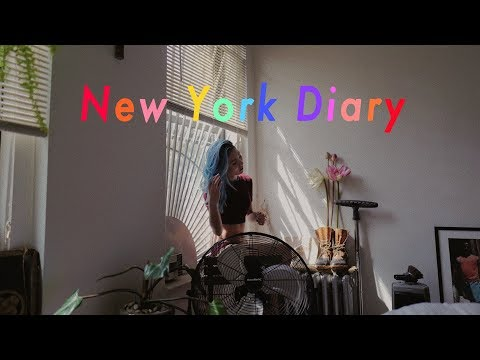 Tina's New York Diary | My 1st NYFW!! (видео)