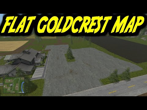 FS17 FLAT GOLDCREST MAP v0.1.0