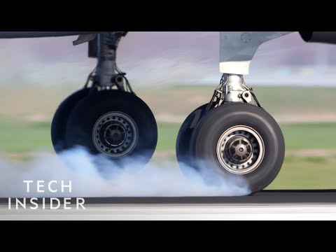 Why Plane Tires Don t Explode On Landing
