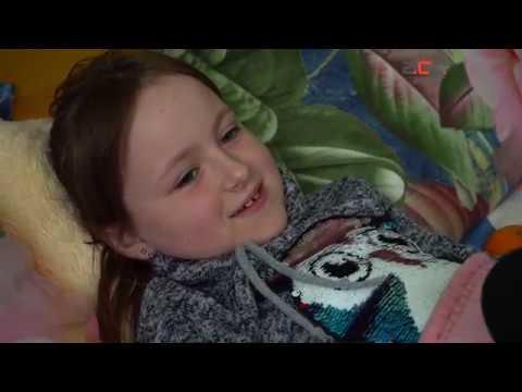 Рідкісна хвороба вразила 9-річну дівчинку Анну з селища Глибока