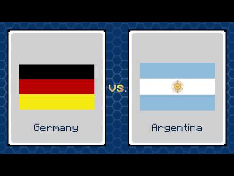 Video: World Pup Predictor - Argentina vs Germany