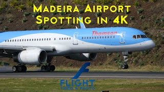 The first 4K Video of plane spotting at Madeira Airport in YouTube. Madeira Airport, also know as Funchal Airport, is one of the most famous airports in the ...