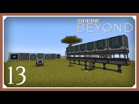 FTB Beyond   Automating Refined Storage!   E13 (Modded Minecraft 1.10.2 Survival Let's Play)