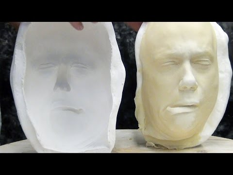 Mask Making: Slip Casting Latex Tutorial
