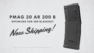 NOW SHIPPING PMAG 30 AR 300 B! Why did we make a specific 300BLK magazine? Heres a hint: It involves certain ...