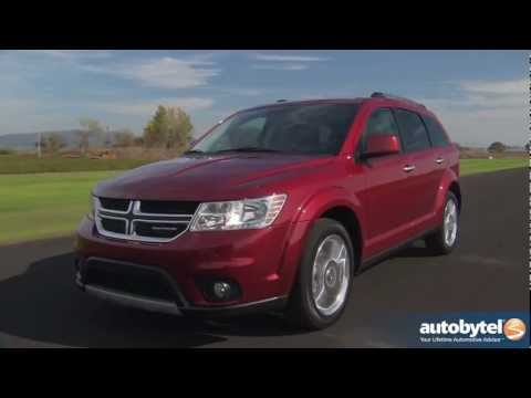 2012 Dodge Journey: Video Road Test and Review