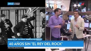 """Fragmento de """"TN de 6 a 10"""" emitido el Miércoles 16 de Agosto de 2017. En la mañana de TN Sergio Lapegüe charló con el..."""