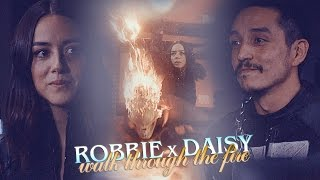 reblog: http://forsakenwitchery.tumblr.com/post/160768818272/we-walk-through-the-fire-robbie-reyes-x-daisy vid f.a.q.: http://forsakenwitchery.tumblr.com/vid-faqгруппа вконтакте: http://vk.com/forsaken.witcheryask: http://ask.fm/forsakenwitchery instagram: http://instagram.com/forsakenwitchery deviantart: http://forsakenwitchery.deviantart.com/ back-up: http://www.youtube.com/user/ForsakenWitchery______________________________________song: https://www.youtube.com/watch?v=WIdJi5IE0P0coloring: mineI feel so sorry for Robbie, this show literally never gives any character a break. But he has to be in S5? Pretty please? He was the best thing about this season, like even Ward's return as a good guy didn't excite me that much.And I'm pretty damn convinced after this episode that Quakerider don't see each other as siblings. I mean, I obviously thought so before, even though the cast denied it, but did you see how happy Robbie was to be there WITH Daisy? And how sad she was he couldn't stay longer? And how he couldn't leave without taking one last look at her? No one will ever be able to convince them they act like siblings. ______________________________________Copyright Disclaimer Under Section 107 of the Copyright Act 1976. Made for non-profit reasons. I only own the editing.