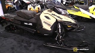 7. 2017 Ski Doo Renegade Enduro 900 Sled - Walkaround - 2016 Toronto ATV Show