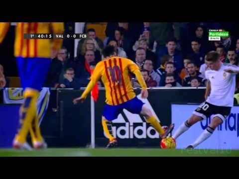 Lionel Messi Vs Valencia (Away) 2016 HD