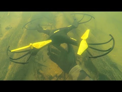 Found Drone Underwater in River Lost 4 Years Ago! (Scuba Diving)_Búvárkodás. Heti legjobbak