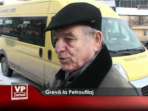Grevă la Petroutilaj