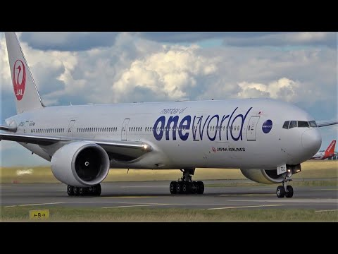 Boeing 777 Compilation, multiple airlines, Close up Plane Spotting, watching airplane 2020