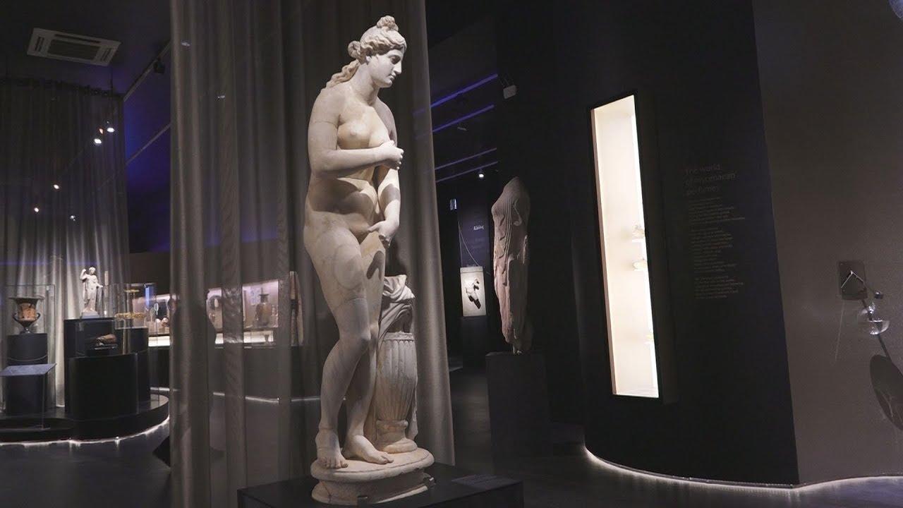 H  θεά Αφροδίτη στο Αρχαιολογικό Μουσείο Αθηνών