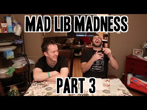 Mad Lib Madness Part 3