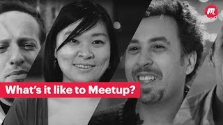 Meetup – Make community real YouTube video