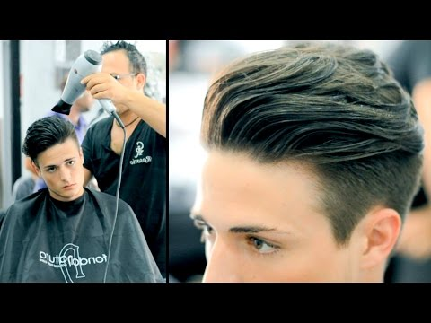Disconnected Undercut – Haircut and Style (Actual Haircut Footage)