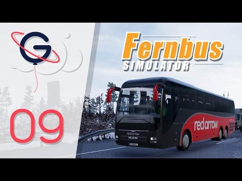 FERNBUS SIMULATOR FR #09 : Car Anglais Red Arrow !   Magdeburg - Brauschweig