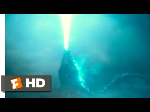Godzilla: King of the Monsters (2019) - Godzilla Rises Scene (6/10)   Movieclips