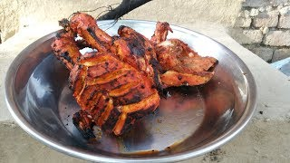 Tandoori Chicken in Tandoor Oven ❤ Chatni ❤ Village Style ❤ Village Food SecretsThanks For Watching Like and Share Subscribe for more videos https://www.youtube.com/channel/UCQexaAjPn3-1MCE4DmBK3Tg