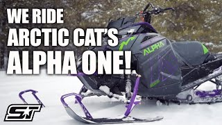 1. Full Review of the 2019 Arctic Cat M 8000 Mountain Cat Alpha One