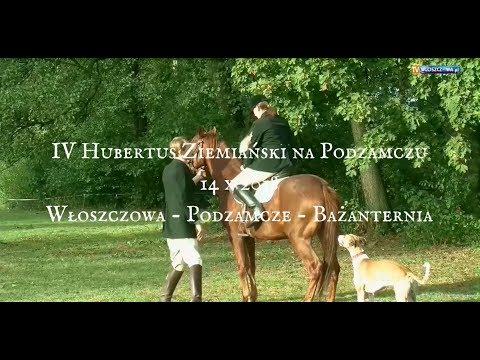 Zapraszamy na IV Hubertusa Ziemiańskiego Włoszczowa 2018